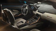 Lamborghini Sian Roadster: gli interni