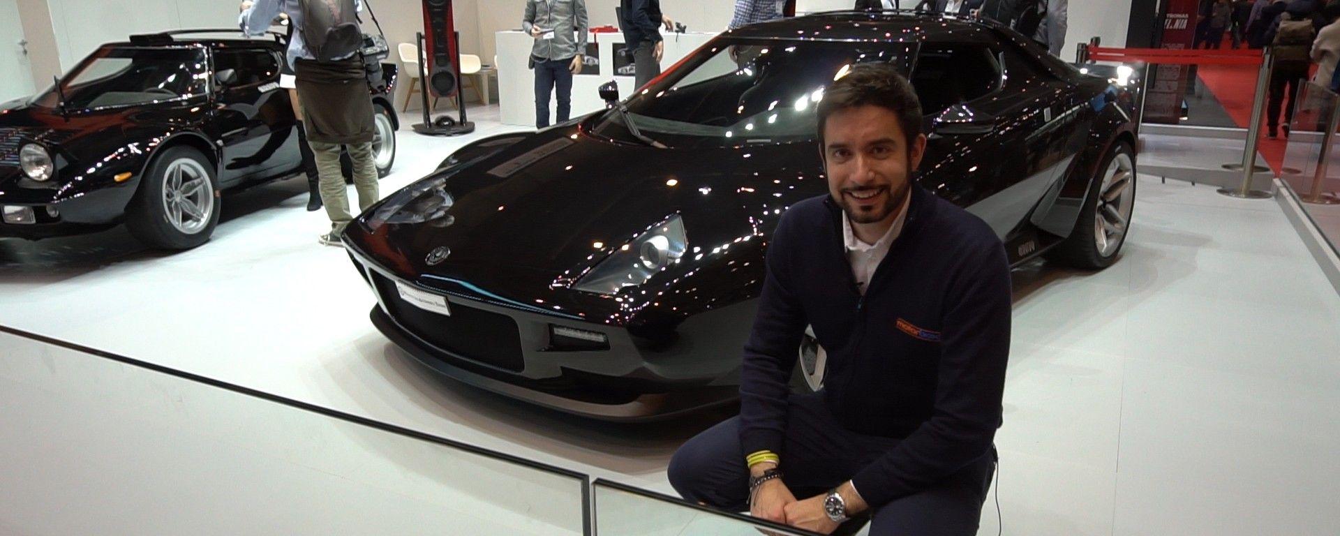 """Nuova """"Lancia"""" Stratos: in video dal Salone di Ginevra 2018"""