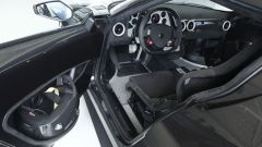 Nuova Lancia Stratos 2018: vista 3/4 dettaglio degli interni