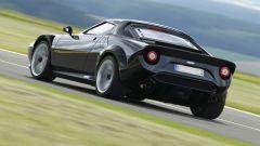 Nuova Lancia Stratos 2018: vista 3/4 posteriore