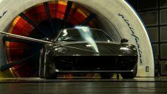 Nuova Lancia Stratos concept nella galleria del vento Pininfarina