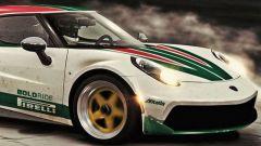 Nuova Lancia Stratos 2020: caro Marchionne, la vogliamo così - Immagine: 2