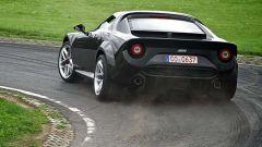 Nuova Lancia Stratos: vista posteriore