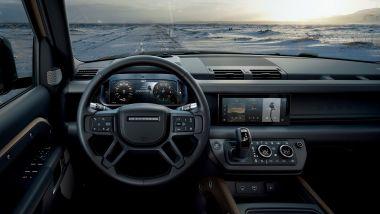 Nuova Land Rover Defender 110: gli interni