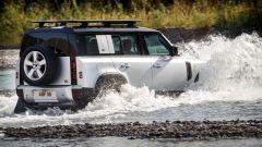 Nuova Land Rover Defender 2020: capoacità di guado fino elevatissima