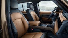 Nuova Land Rover Defender 2020: gli interni