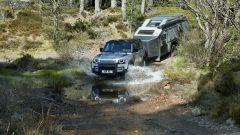 Nuova Land Rover Defender 2020: l'elettronica assiste anche nei guadi