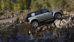 Nuova Land Rover Defender 2020: vista laterale
