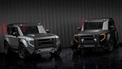 Nuova Land Rover Defender 80: i primi rendering della baby Land