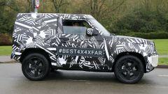 Nuova Land Rover Defender: ecco la tre porte - Immagine: 3