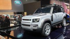 Nuova Land Rover Defender al Salone di Francoforte 2019. 3/4 anteriore