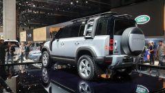Nuova Land Rover Defender al Salone di Francoforte 2019. 3/4 posteriore