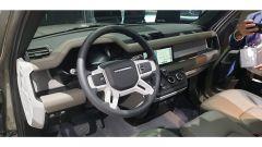Nuova Land Rover Defender al Salone di Francoforte 2019. gli interni