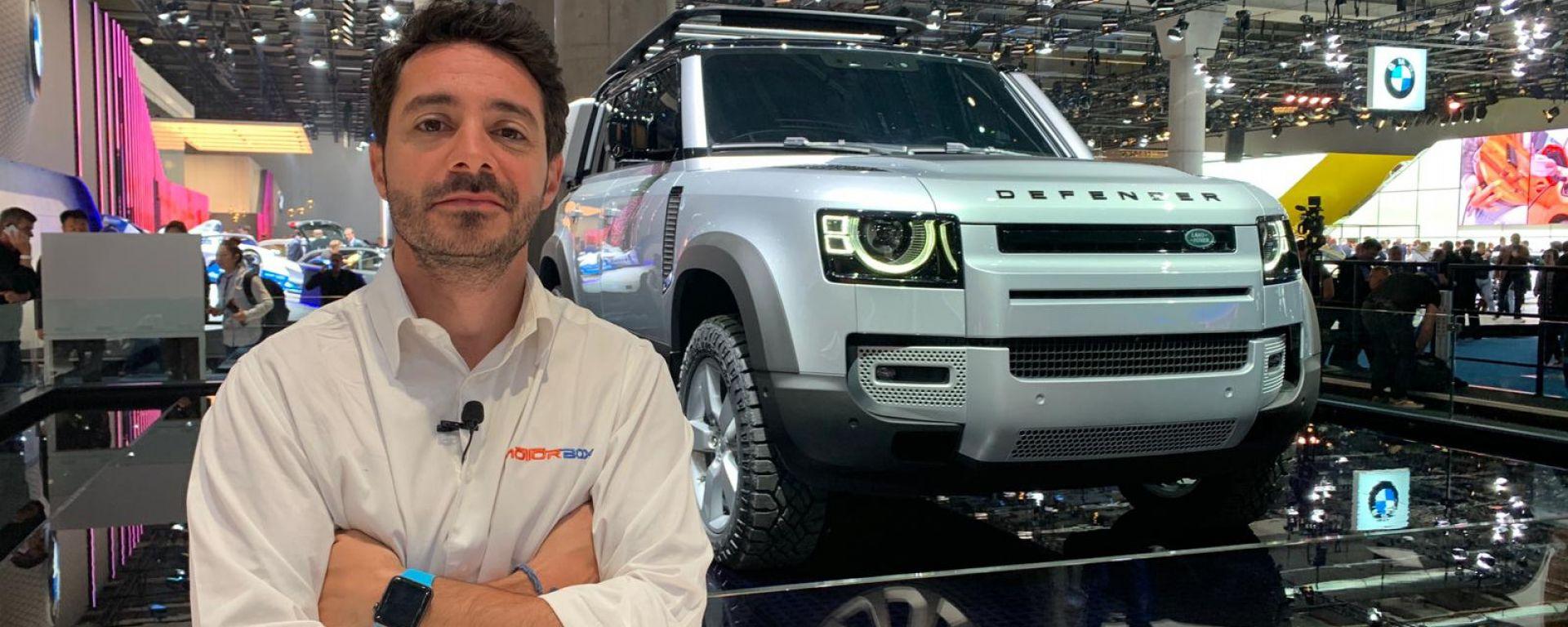 Nuova Land Rover Defender al Salone di Francoforte 2019