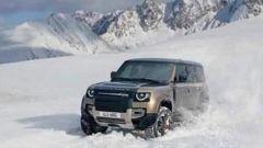 Nuova Land Rover Defender, foto leaked