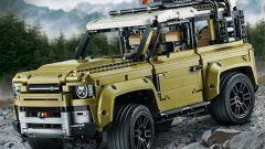 Nuova Land Rover Defender: il modellino di Lego