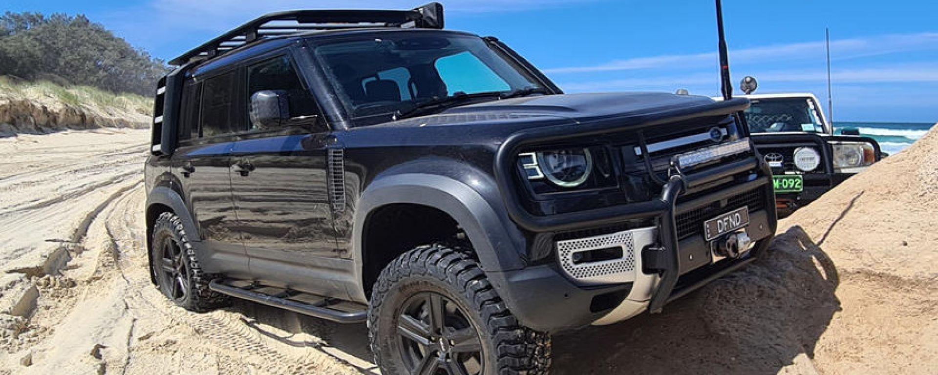 Nuova Land Rover Defender: il tuning di Newdefendermods