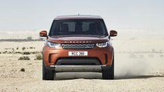Nuova Land Rover Discovery, il muso