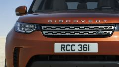 Nuova Land Rover Discovery, particolare del muso