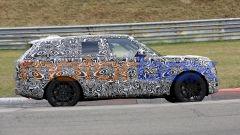 Nuova Land Rover Range Rover, le foto spia dal 'Ring