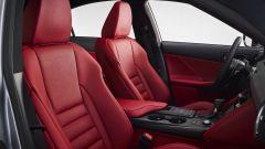 Nuova Lexus IS 2021, i sedili anteriori