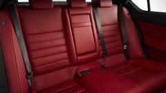 Nuova Lexus IS 2021, i sedili posteriori