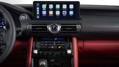 Nuova Lexus IS 2021, il nuovo infotainment da 10,3 pollici