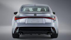 Nuova Lexus IS 2021, il posteriore