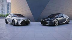 Nuova Lexus IS 2021, la gamma per gli USA