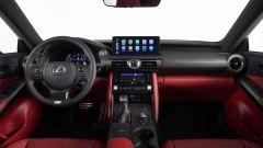 Nuova Lexus IS 2021, la plancia