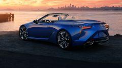 Nuova Lexus LC 500 Convertible 2021: motore, prezzo, dotazioni
