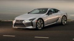 Lexus LC 2021: come cambia la coupé sportiva. La tecnica
