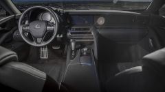 Nuova Lexus LC: gli interni