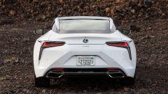 Nuova Lexus LC: il posteriore