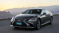 Nuova Lexus LS Hybrid 2018, a gennaio da 105.000 euro - Immagine: 15