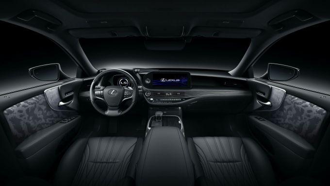 Nuova Lexus LS: dettaglio degli interni