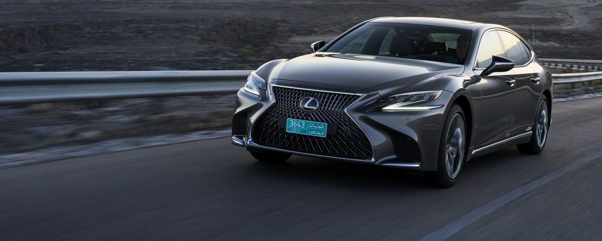 Nuova Lexus LS Hybrid 2018