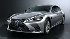 Nuova Lexus LS: il 3/4 anteriore