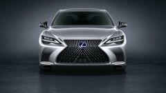 Nuova Lexus LS: il frontale