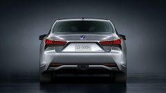 Nuova Lexus LS: il posteriore