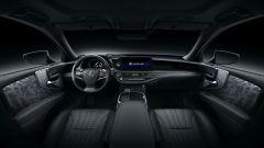 Nuova Lexus LS: l'abitacolo interno