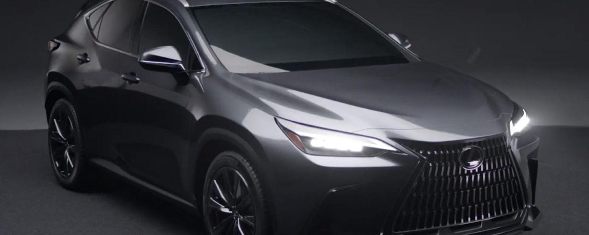 Nuova Lexus NX 2021, già online le prime foto