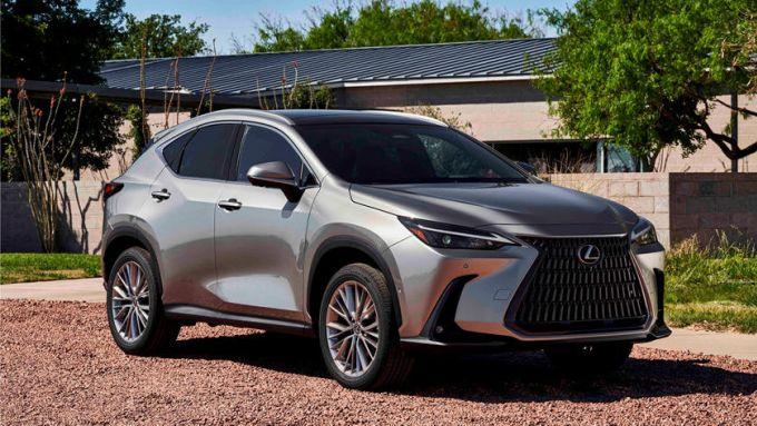 Nuova Lexus NX: ampia scelta di motori, anche PHEV
