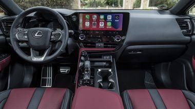 Nuova Lexus NX, gli interni