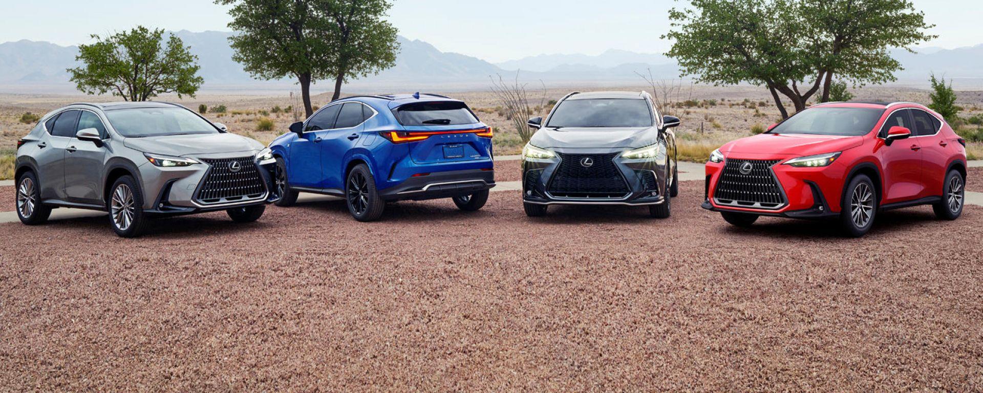 Nuova Lexus NX: in arrivo il SUV giapponese anche con motore plug-in hybrid