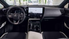 Nuova Lexus NX: la plancia con interni più chiari
