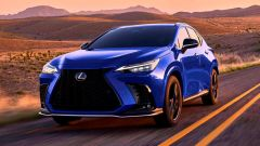 Nuova Lexus NX: la versione F Sport