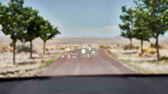 Nuova Lexus NX: l'head-up display
