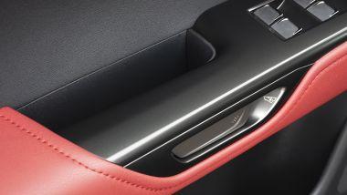 Nuova Lexus NX, maniglia porta elettrica