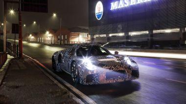 Nuova Maserati 2020, prime foto spia